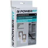 Powerfit Efficient Microfibre Dust Bag 20L (2pack)