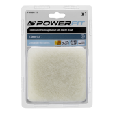 Powerfit 175mm buffing bonnet